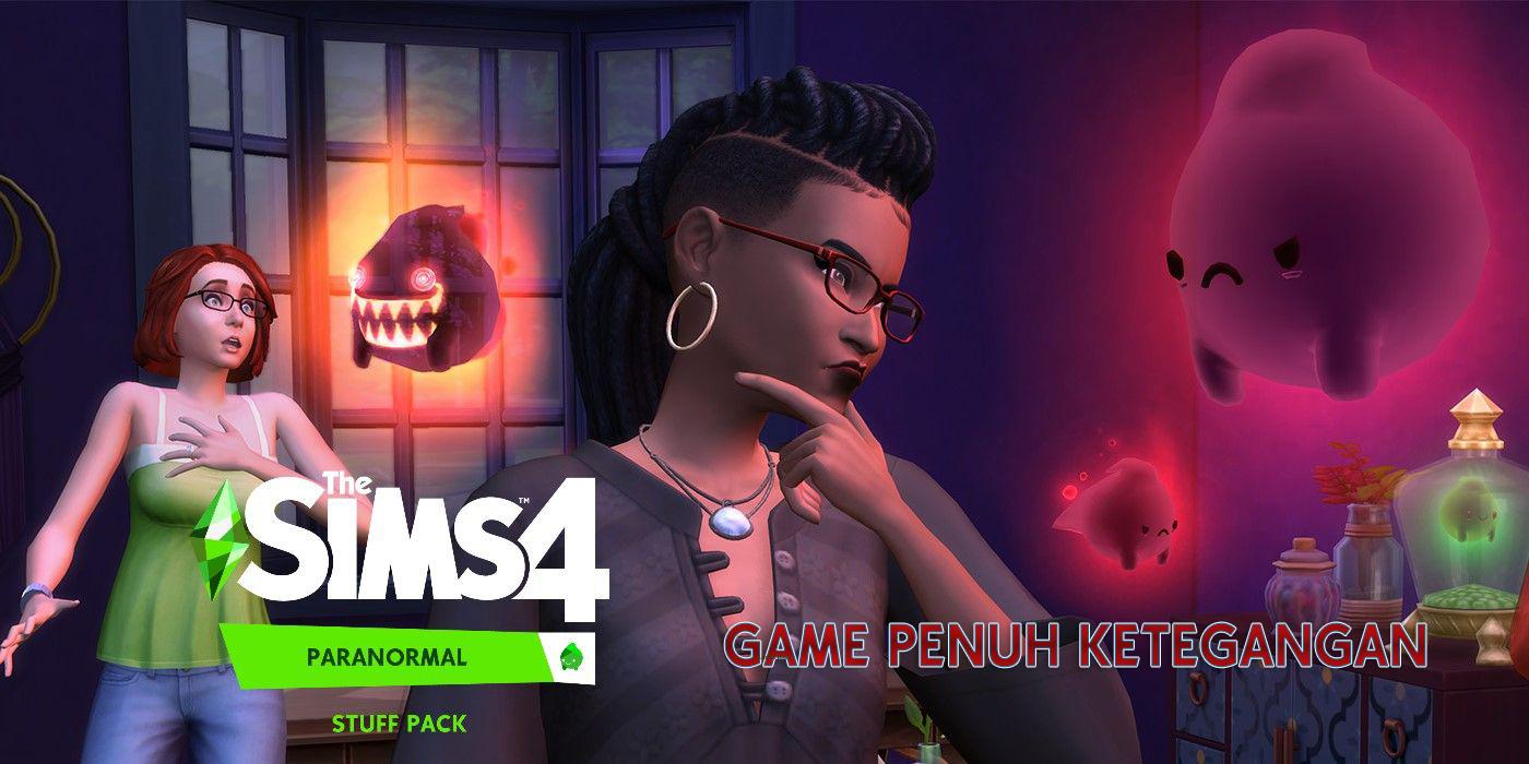 The Sims 4: Paranormal Stuff :  Pemain dapat berkomunikasi dengan orang mati dan bertemu roh.
