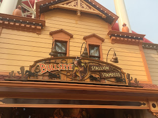 Bullseye Stallion Stampede Pixar Pier Disneyland