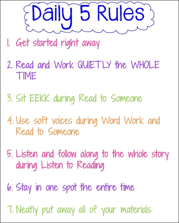 Teacherific Daily 5 Part 1