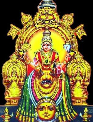 ശ്രീമൂകാംബികാ പഞ്ചരത്ന സ്തോത്രം Mookambika Pancharatna Stotram Malayalam Lyrics