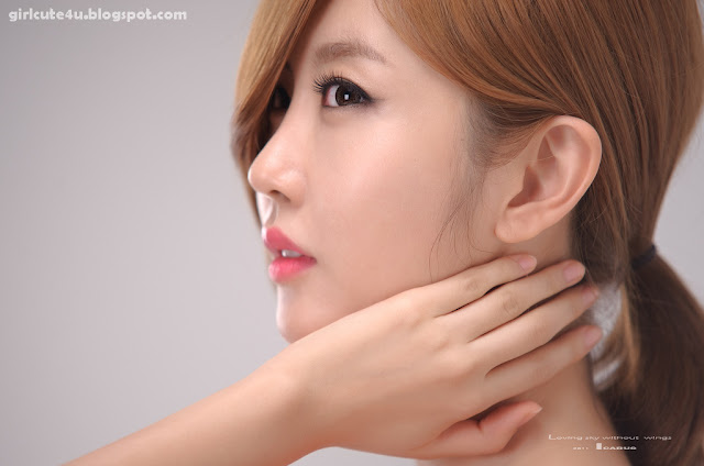 Choi-Byul-I-One-Shoulder-Red-Dress-08-very cute asian girl-girlcute4u.blogspot.com