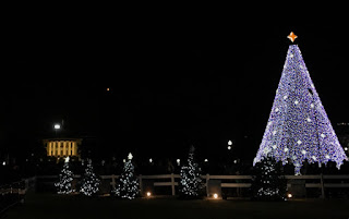 National Christmas Tree and the White House