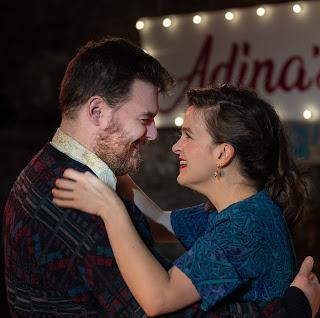 Donzetti: The Elixir of Love - David Powton, Alys Roberts - King's Head Theatre (Photo Bill Knight )