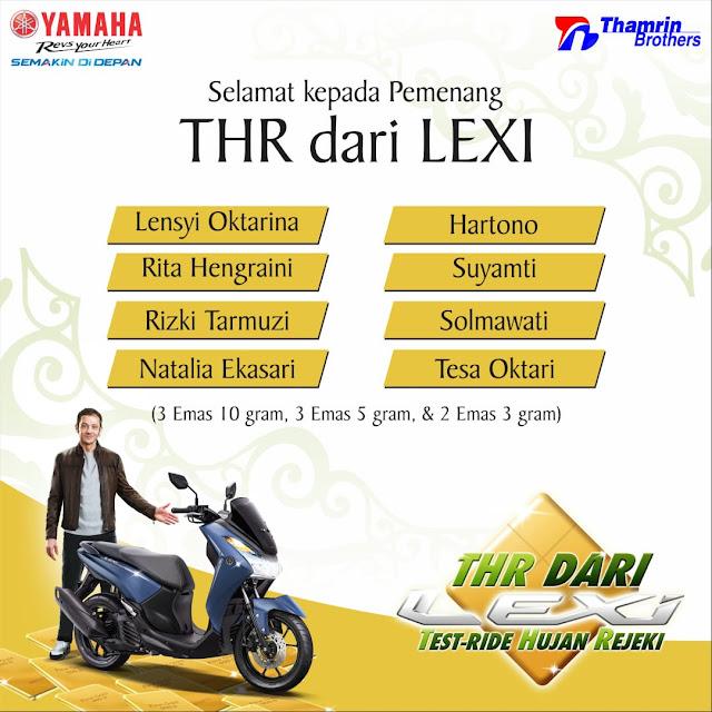 THR dari Yamaha LEXi