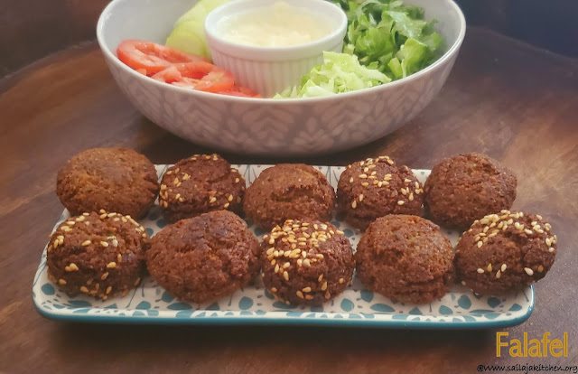 images of Falafel  Recipe / Chickpea Falafel  Recipe / Easy Homemade Falafel Recipe