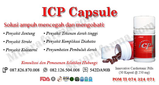 Beli Obat Jantung Koroner ICP Capsule Di Bandar Lampung, icp capsule, icp capsule bandar lampung, tasly icp, obat jantung koroner