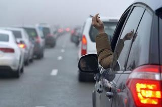 В России вводят штраф за выброс окурков и прочего мусора из окна автомобиля на трассе