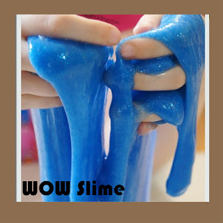 2 ingredient slime recipe is a fun science project