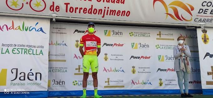 Mauricio Moreira recuperó el maillot de líder de la Copa de España