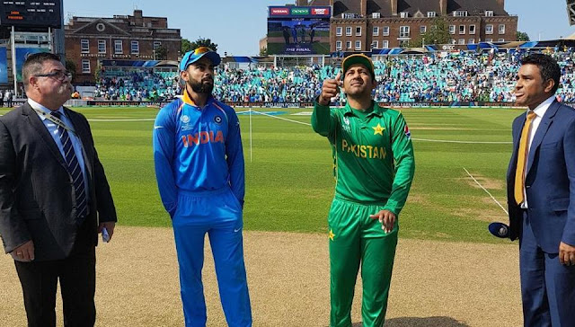 India vs Pakistan, ICC Champions Trophy 2017 final, live cricket score