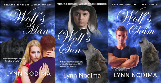 Lynn Nodima's Texas Tanch Wolf Pack Series Facebook Page
