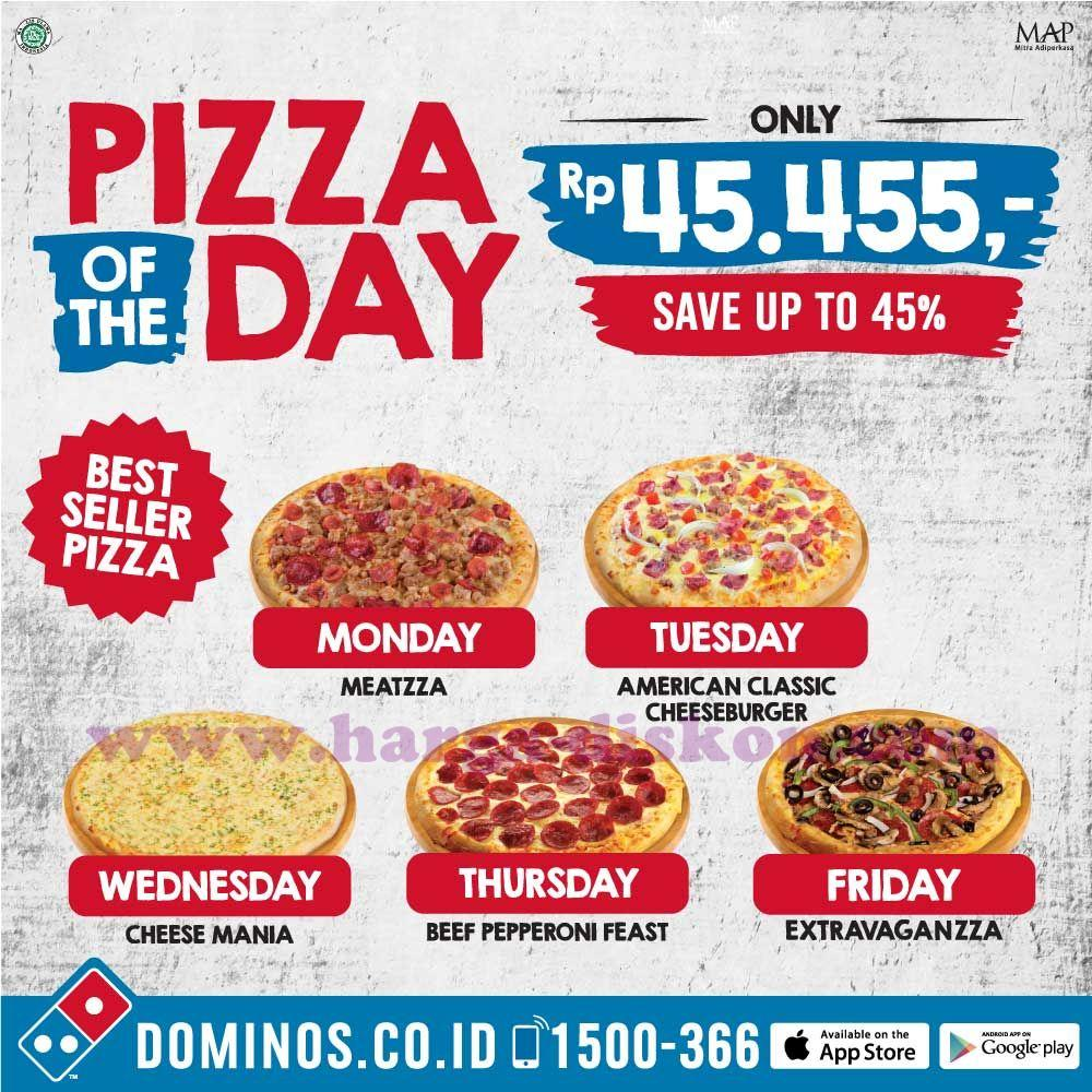 Promo DOMINOS PIZZA Terbaru