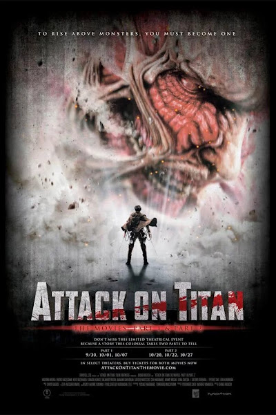 Attack on Titan (2015) Hindi Dubbed 720p, 480p HDTV x264