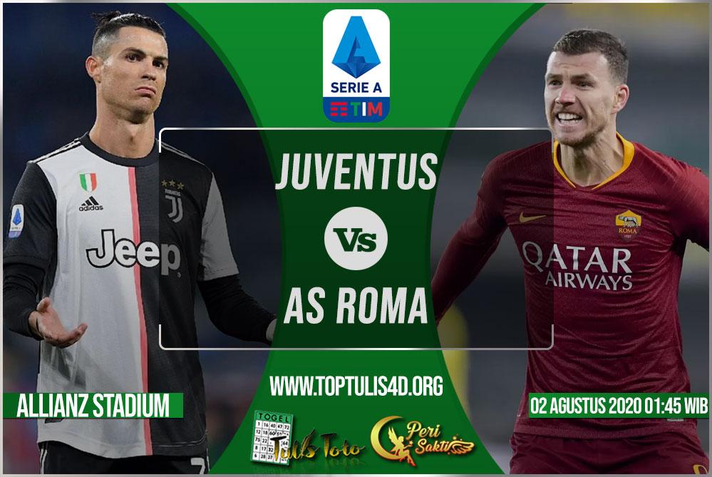 Prediksi Juventus vs AS Roma 02 Agustus 2020