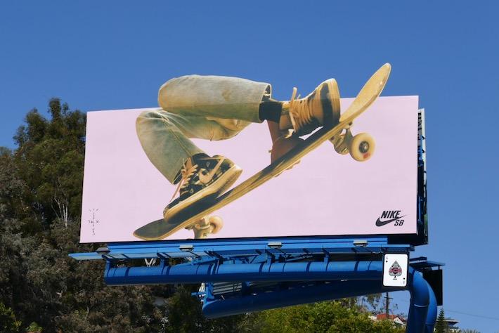 Nike SB Cactus Jack sneakers billboard