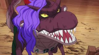 ワンピースアニメ 990話 | 百獣海賊団 飛び六胞 ページワン 悪魔の実 ペーたん | ONE PIECE Beasts Pirates Tobiroppo PAGE ONE