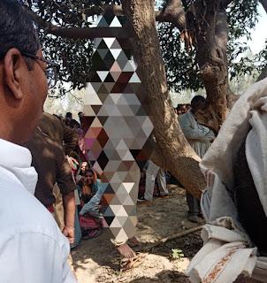 संदिग्ध परिस्थितियों में पेड़ से लटकता मिला युवक का शव, परिवार ने लगाया हत्या का आरोप