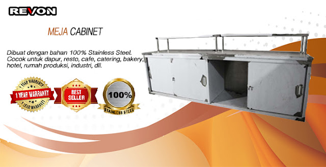 Jual Meja Stainless Steel di Jakarta