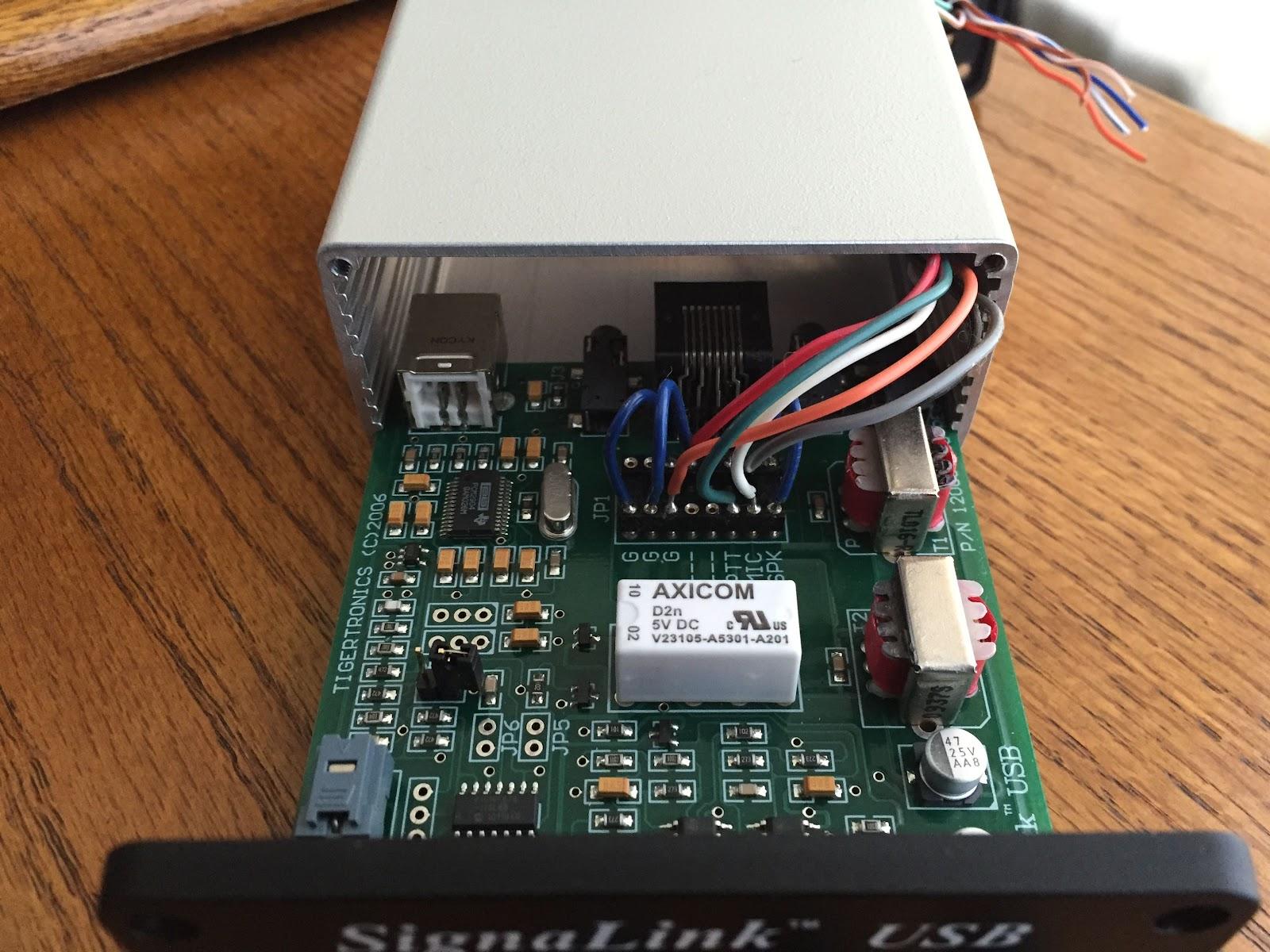 internal mod wiring part2 mod for signalink usb  [ 1600 x 1200 Pixel ]