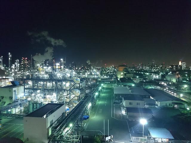 penyebab polusi cahaya