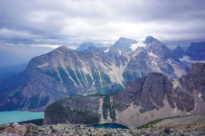 View from Mount St. Piran, Banff National Park