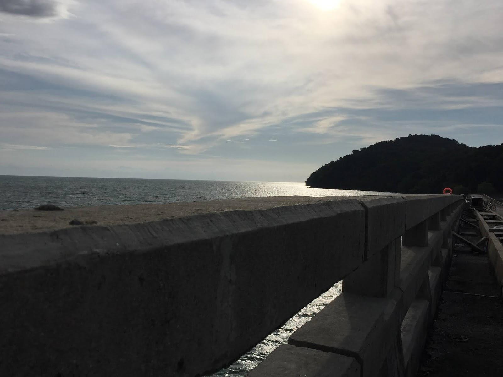 pulau bunting yan kedah, tempat memancing atas jambatan, tempat menarik luar bandar, tempat menarik di kedah