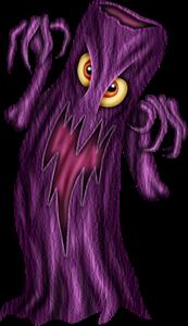 Clipart de Monstruos de Halloween.