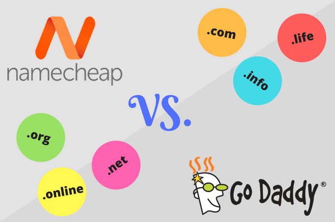 The Review of Namecheap and GODADDY - The Domain Registrar Showdown