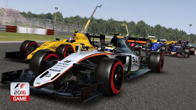 Tampilan Game F1 2016