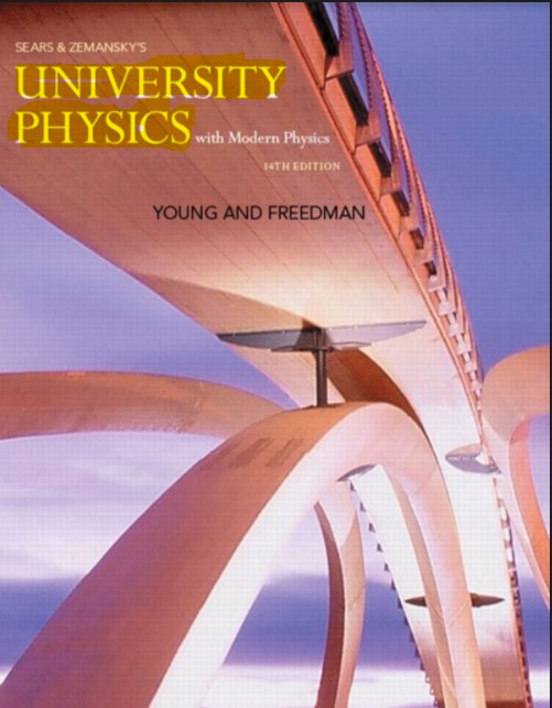 University Physics with Modern Physics 14th Edition in pdf