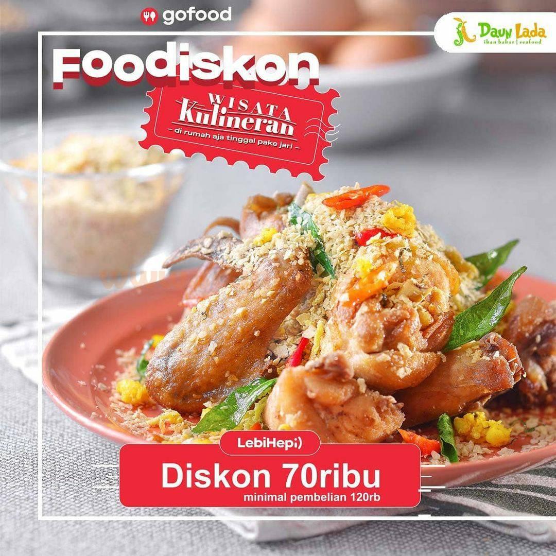 Promo Daun Lada Restaurant Monday Madness – Diskon Rp 70.000 via GoFood