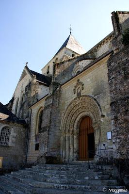 La collegiale di Saint Denis di inizio 1100