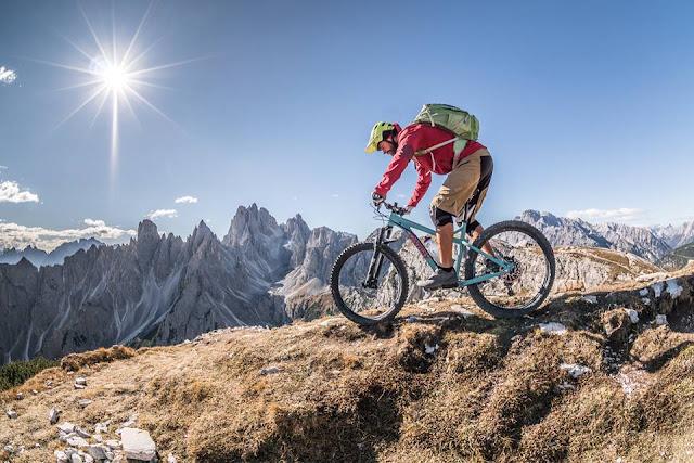 Singletrail Mountainbike Tour Cianpedele Drei Zinnen
