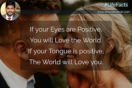 Be Positive, Spread Positivity.
