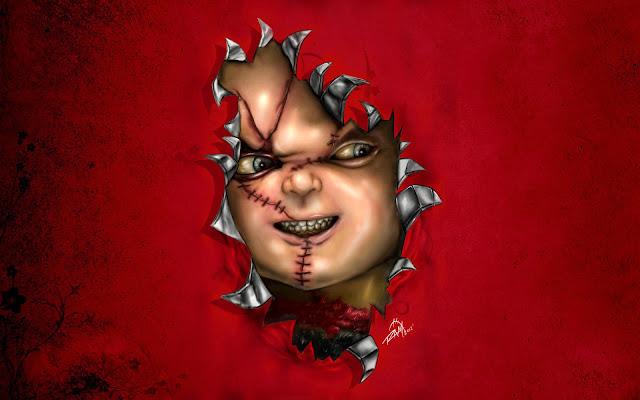 Papel de parede grátis Papel de Parede de Assassino Chuckie para PC, Notebook, iPhone, Android e Tablet.