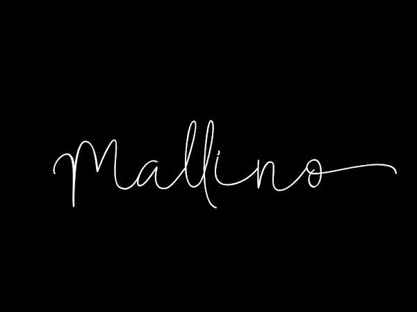 Mallino Handwritten Light Script Font Free Download