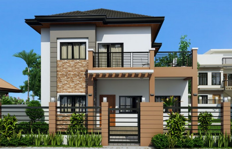 Collection 50 Beautiful Narrow House Design For A 2 Story Floor Home With Small Lot Bahay Ofw