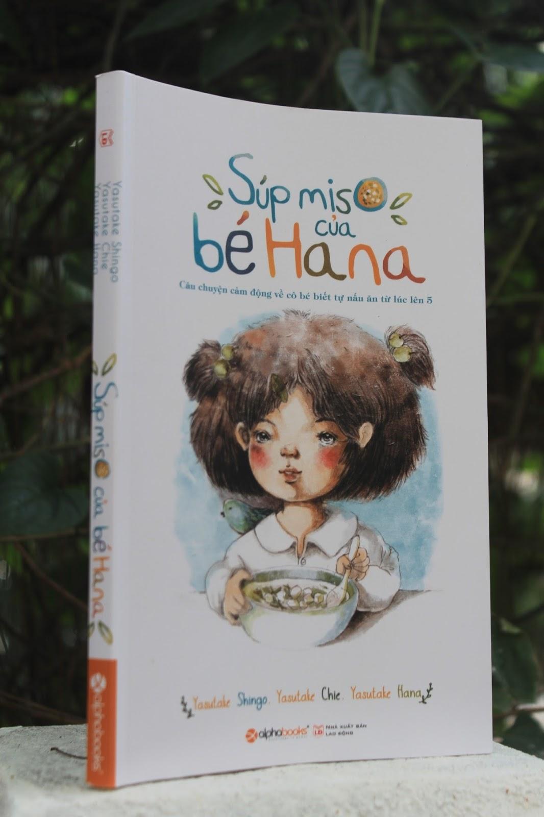 Súp miso của bé Hana