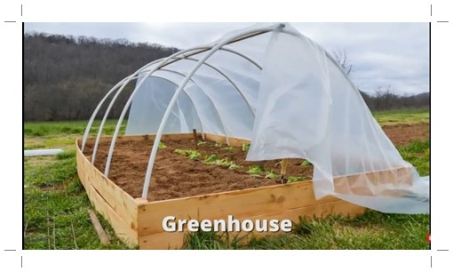 Green house pipa paralon