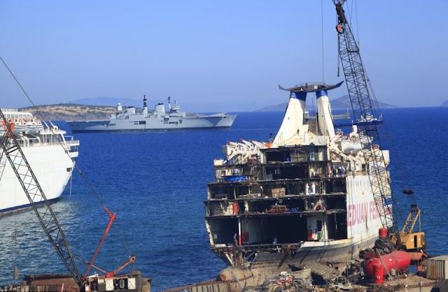 Prima lista europea delle strutture di riciclaggio delle navi