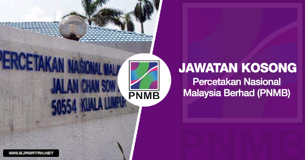 jawatan kosong terbaru PNMB 2020