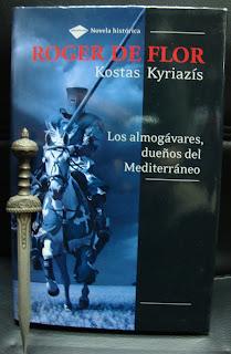 Portada del libro Roger de Flor, de Kostas Kyriazís