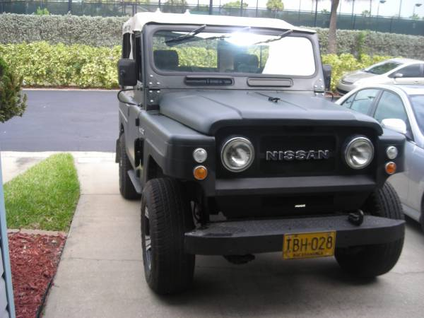 1980 nissan patrol 4x4 for sale in the usa left hand drive 25 500. Black Bedroom Furniture Sets. Home Design Ideas