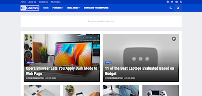 Top 10 adsense responsive blogger templates