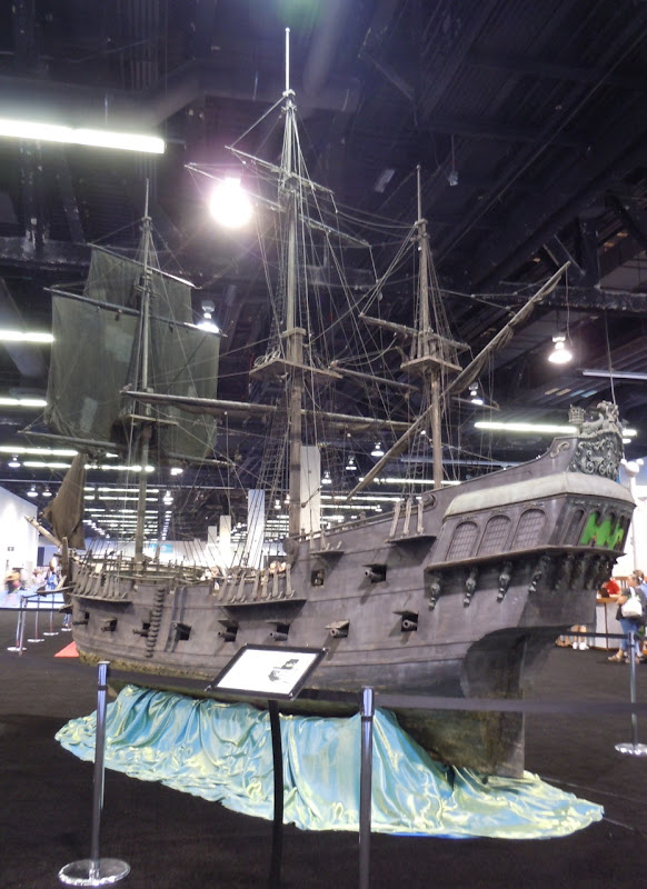 Black Pearl miniature pirate ship
