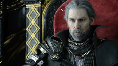 Screenshot from Final Fantasy: Kingsglaive of King Regis