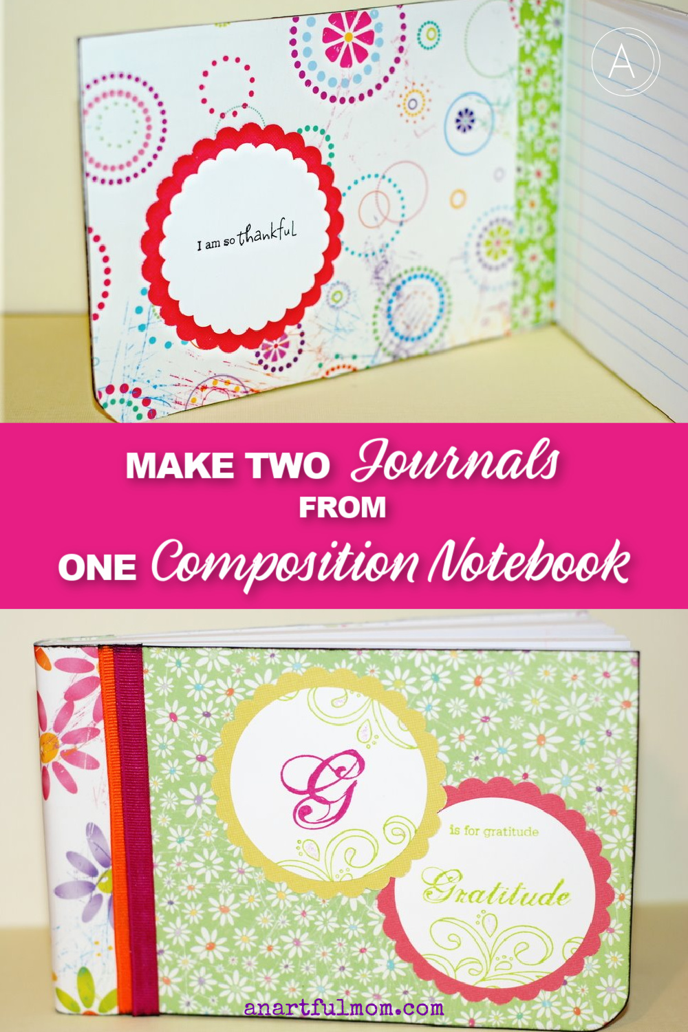 how to alter a composition notebook