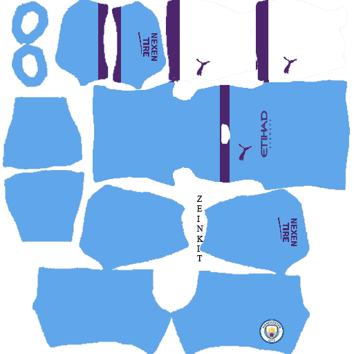 Kit DLS manchester city New DLS 2020