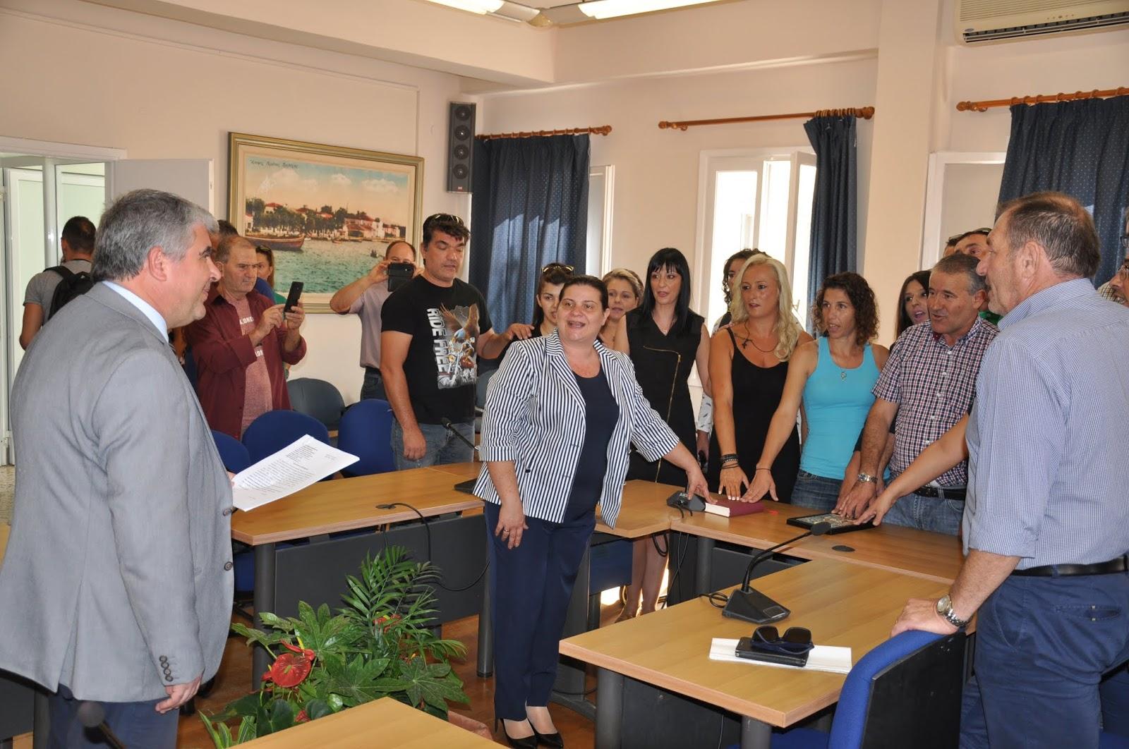 Ορκίστηκαν οι μόνιμοι υπάλληλοι που προσελήφθησαν με την προκήρυξη  3Κ στην Πρέβεζα.
