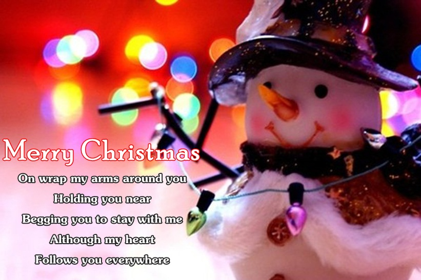 Christmas Love Sms Image for Greeting Card